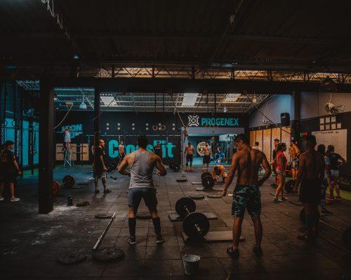fitnessstudio im keller